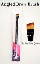 Kleancolor Angled Eye Brow Brush -  Professional Makeup Brush for Eyebrow