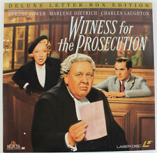 Witness for the Prosecution - 1957 Classic - Laserdisc