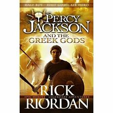 Percy Jackson and the Greek Gods-ExLibrary