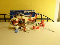 Playmobil 3789 Rettungshubschrauber Hubschrauber Rettung in OVP Vintage