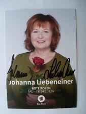 Original Autogramm Johanna Liebeneiner - Rote Rosen - LENA - Liebe meines Lebens