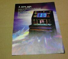 NSM All Buyer's Guide Jukebox flyer- original