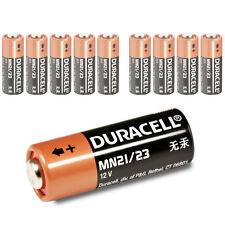 10 x Duracell MN21 Batterie 12V - 23GA LRV08 A23 23A LR23A