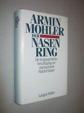 ARMIN  MOHLER   Der Nasenring   1991