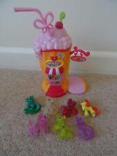 My Little Pony Ponyville Ice Cream Station Shop  Figures  some Glitter