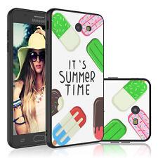 For Samsung Galaxy J7 V 2018 Star/Crown/Refine Hybrid Shockproof Slim Case Cover
