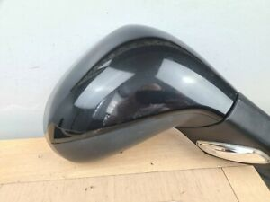 2012 PEUGEOT 207 DRIVER SIDE ELECTRIC WING MIRROR O/S black  EXLB