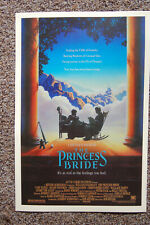 The Princess Bride  Movie poster Lobby #1 Peter Faulk Andre the Giant Billy Crys
