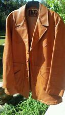Vintage Glazed Lambskin Leather Jacket-Robert Lewis-VGC-Soft see measurements