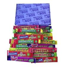 Toot Sweets The Sweet Box Filled With 21 Large Chew Bars Retro Sweets Gift Box