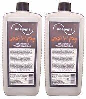 2x1L Reinigungsfluid Analogis NEU Schallplatten Waschflüssigkeit