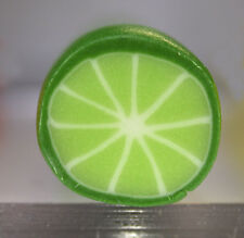 Polymer clay raw cane – Lime Citrus