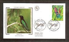 France 2003 SG3888 Yvert 3550 FDC (Pointe-A-Pitre) Birds-Purple Throated Carib