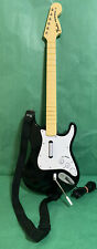 Xbox 360 Fender Stratocaster Wired Rock Band Guitar Hero Controller - Tested