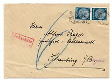 GERMANY/REICH:  Postage due cover 1935.