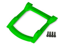 Skid plate, roof (body) (green)/ 3x12 CS (4) for Rustler 4x4 by Traxxas TRA6728G