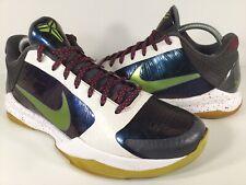 Nike Zoom Kobe 5 V Chaos Joker Purple White Green Mens Size 9 Rare 386429-531