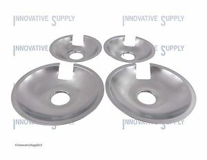 Drip Pans Jenn-Air for Coil Element 715877 and 715878 Set of 4 (2 ea)