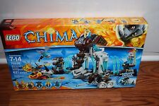 (NEW SEALED) LEGO LEGENDS OF CHIMA 70226 MAMMOTH'S FROZEN STRONGHOLD KIDS BLOCKS