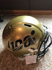 Randy White -Dallas Cowboys Signed NFL 100th Anniversary Full-Size Repl. Helmet