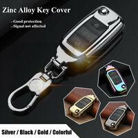 4-Color Zinc 3 Button Remote Key Fob Cover Case Shell For VW Golf Jetta  # - .-