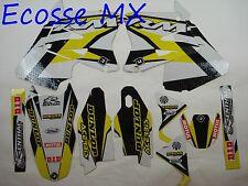 Suzuki RM125 RM250 2001-2010 Flu Grafik Aufkleber Motocross
