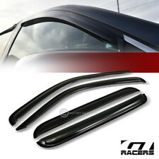 For 2002-2007 Jeep Liberty Kj Sun/Rain Guard Tint Shade Deflectors Window Visors