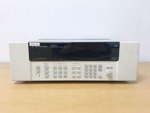 Keysight Agilent 34980A Multifunction Switch / Measure Unit