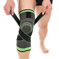 3D Weaving Knee Brace Pad Support Protect Compression Breathable Protective