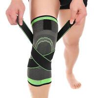3D Weaving Knee Brace Pad Rodilleras Kenn Brace Support Compression Breathable