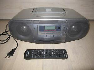 Panasonic RX-D50A Stereo Radiorecorder / Kassettenrekorder / CD-Player
