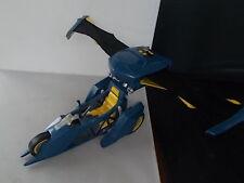 """Large Vintage Winged Batman Car Plane DC Comics Push Button Pop Out Wings 10"""""""