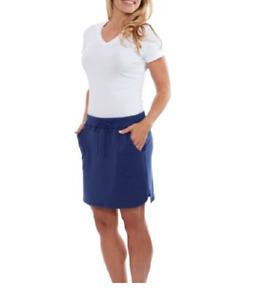 Balance Collection XL  Cotton Blend Weekend Short Skirt  Blue Bell Msrp $30