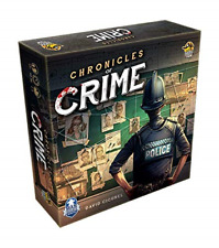 Chronicles of Crime Board Game Lucky Duck NEW SEALED!