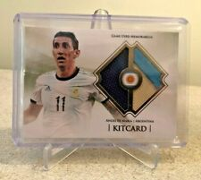 RARE Angel Di Maria Argentina Match-Worn Jersey Patch 8/32 PSG Manchester United