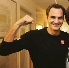 Uniqlo Tennis Roger Federer Casual Cotton longsleeve shirt RF Asian L/US M