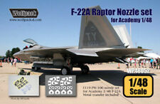 Wolfpack WP48052, F-22A Raptor Nozzle set (for Academy 1/48) ,SCALE 1/48