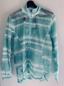 Brooks Surf Scape LSD Jacket - Women's - Size L (14) - Green/White - BNWT
