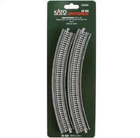 Kato 20-520 Courbe Voie Simple / Single Track Curve Viaduct R315mm 45° 2pcs - N