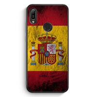Spanien Splash Flagge Silikon Hülle für Huawei Y6s Motiv Design Spain Espana ...