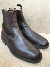 TRICKERS Stephen Dealer Leather Chelsea Brown Boots Size UK 9.5 | US 10.5