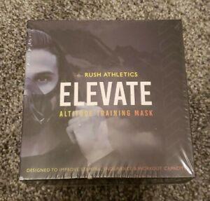 Rush Athletics Elevate Altitude Training Mask Black NEW/SEALED