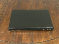 Brand New, NASB, Large Print, Black Bonded Leather Holy Bible, Red Letter,