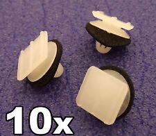 10x HONDA plastique clips pour triangulaire Rétroviseur miroir garniture /
