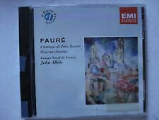 Choral Works Faure Cantique de Jean Racine Groupe Vocal de France 1984 New   G97