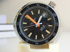 CERTINA DS-3 PH200M QUARTZ *near NOS, Black Dial, 1977*