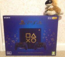 Oro Azul Juego PLAYSTATION 4 PS4 DAYS OF SLIM limitada Collectors Edition Consola