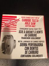 """NEW Milwaukee 49-57-8309 Carbide Tooth Hole Saw cutter 7/8"""""""