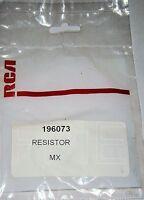 Lot of 2 196073 Original Resistor RCA