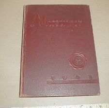1943 Durham High School yearbook North Carolina NC County Pepsi Coke vintage Ads
